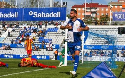 Arturo celebra l'únic gol del partit | Sendy Dihör