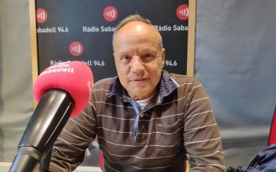 Mariano Molina als estudis de Ràdio Sabadell | Pau Duran
