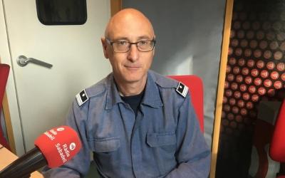 Martín Sanabria a l'entrevista a Ràdio Sabadell | Mireia Sans