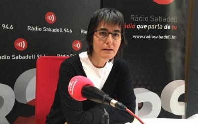 Elisabet Palomés a l'entrevista a Ràdio Sabadell | Mireia Sans
