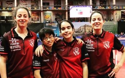 L'equip femení de Falcons | @falconstt