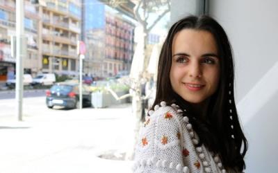 Andrea Motis durant la promoció del disc | ACN