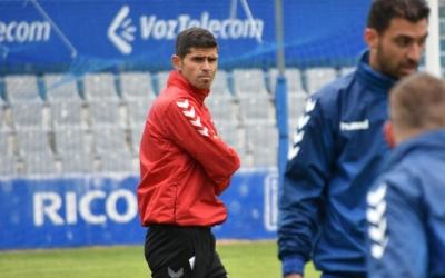 Atenta mirada d'Hidalgo en un entrenament d'aquesta setmana | Críspulo Díaz