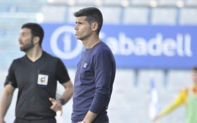 "Antonio Hidalgo ja va trencar la ratxa de mals resultats del Sabadell. Ara ""no renuncia a res"" al camp de l'Hércules. | Críspulo Díaz"