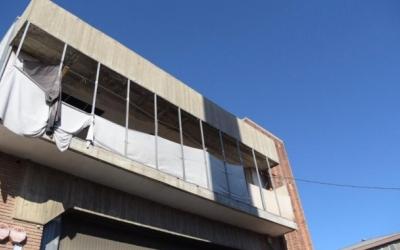 Imatge de la nau industrial on vivien alguns dels detinguts | Roger Benet