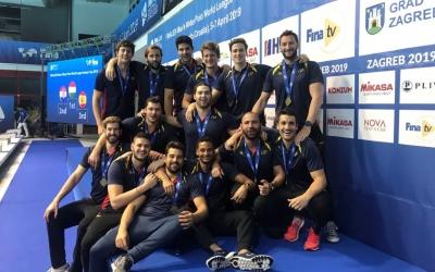 El combinat espanyol, amb Sergi Cabanas, ha estat tercer a l'Europa Cup. | @DMwpCoach