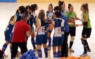 El Futbol Sala Sabadell femení no va poder guanyar a l'última jornada i queda en antepenúltima posició a la taula. | Twitter