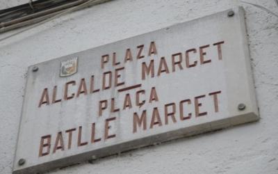 Alcalde Marcet és el nom que ha provocat l'al·legació/ Roger Benet