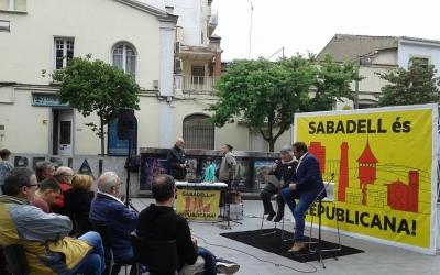 ERC Sabadell ha presentat propostes en cultura a la plaça de l'Imperial | Marc Serrano i Òssul
