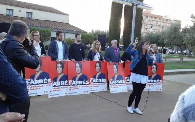 L'acte s'ha fet davant la granja del Pas, al parc Central del Vallès | Marc Serrano i Òssul