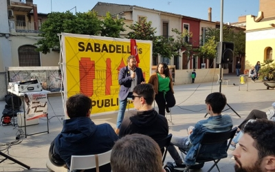Juli Fernández i Glòria Llobet a l'acte d'aquest vespre | Cedida