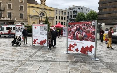 La Festa de la Creu Roja ha alternat activitats de pur entreteniment amb plafons informatius | Creu Roja Sabadell