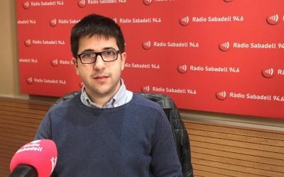 Albert Flamarich, nou director de l'ONCE a Sabadell/ Mireia Sans