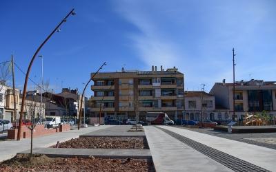 Imatge de les obres de la plaça de l'antic Vapor Cusidó | Roger Benet