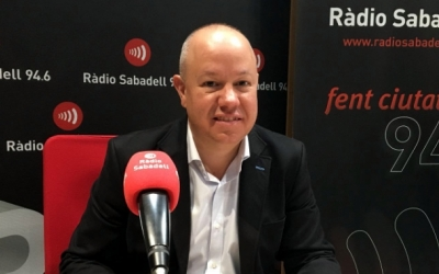 Joan Garcia, en una imatge d'arxiu/ Ràdio Sabadell
