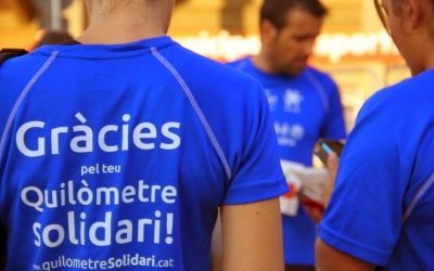 Imatge de la primera edició del Kilòmetre Solidari de l'Esquitx/ Cedida