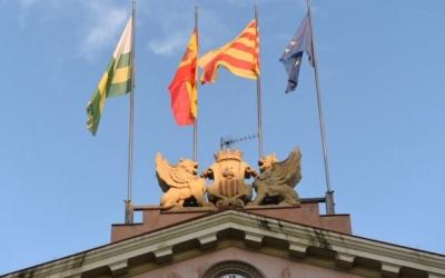 El frontó de l'edifici de l'Ajuntament de Sabadell | Roger Benet