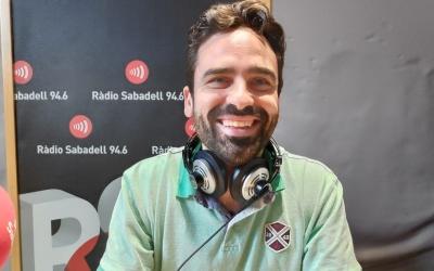 Isaac Barrachina, director de la Biblioteca del Nord, a Ràdio Sabadell   Pau Duran