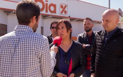 Marta Farrés al polígon de Can Roqueta | Cedida
