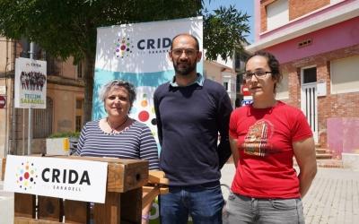 Nani Valero, Maties Serracant i Anna Lara | Cedida