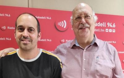 Miralles i Masip als estudis de Ràdio Sabdell | Pau Duran