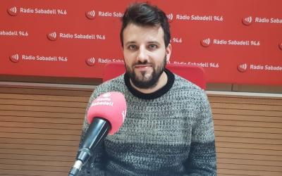 Dalmau Pérez als estudis de Ràdio Sabadell | Raquel García