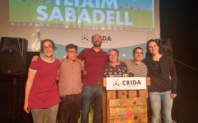 Anna Lara, Lluís Perarnau, Maties Serracant, Nani Valero, Glòria Rubio i Míriam Ferràndiz | Pere Gallifa