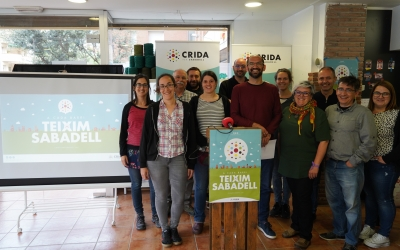 Altres propostes dels cridaires són assolir els 1.000 habitatges públics o municipalitzar residus i aigua | Crida per Sabadell