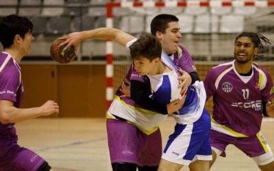 El Creu Alta Sabadell Handbol ha hagut de superar una fase prèvia per arribar fins a aquesta eliminatòria. | Jordi Vila