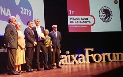 Imatge de la gala celebrada ahir a Barcelona | FCN