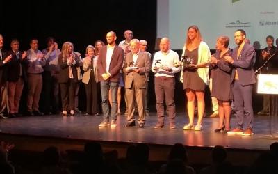 Maica Garcia ha recollit el premi d'esportista més destacada.   Sergi Park