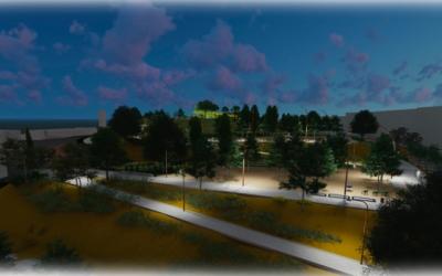 Projecció del Parc de les Aigües | Cedida