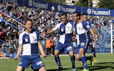 Celebració de l'únic gol del partit | Sendy Dihör