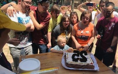 Imatge de la celebració dels 25 anys d'Andi/ Cedida Andi