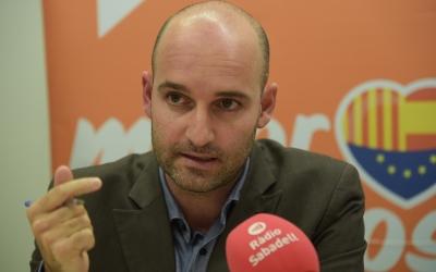 Hernández durant una roda de premsa | Roger Benet