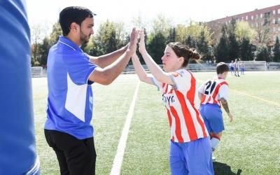Isaam El Azzouzi durant la seva etapa de dos anys a Martorell | CF Martorell