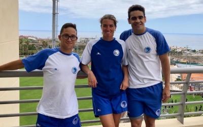 Albert Martínez, Èlia Garcia i Óscar Salguero a Tenerife | CNS
