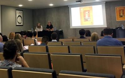 Imatge d'una de les conferències del congrés/ Cedida