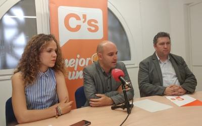 D'esquerra a dreta, Laura Casado, Adrián Hernández i José Luís Fernández | Pere Gallifa
