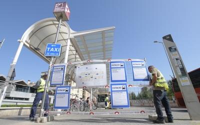 L'estació d'autobusos ha tancat aquesst matí/ Roger Benet
