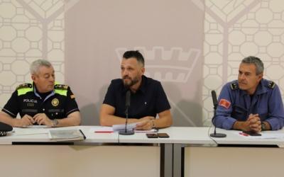El dispositiu especial de seguretat per la revetlla s'ha presentat en roda de premsa | Ajuntament de Sabadell