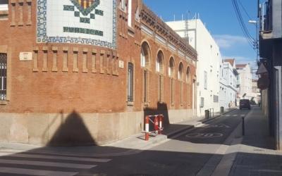 La cruïlla entre els carrer Les Paus i Llobet | Arxiu