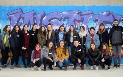 Alumnes de l'Institut Junqueres que aquest curs han participat en el programa de Mentoria Social | Ajuntament de Sabadell