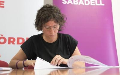 Marta Morell, secretària general de Podemos Sabadell | Roger Benet