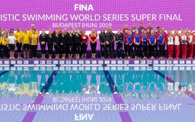 Podi final de les Sèries Mundials a Budapest | FINA