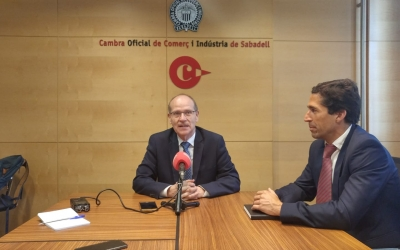 Ramon Alberich, nou president de la Cambra de Comerç | Pere  Gallifa