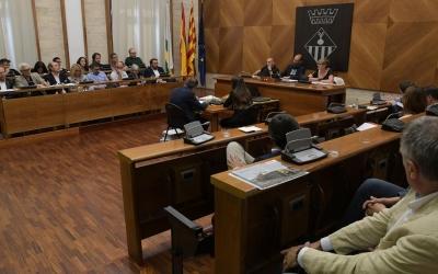 Ple de comiat a l'Ajuntament de Sabadell | Roger Benet
