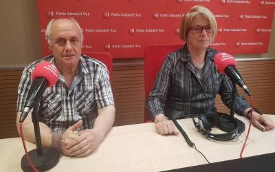 Els veïns del Centre Mercat als estudis de Ràdio Sabadell | Pau Duran