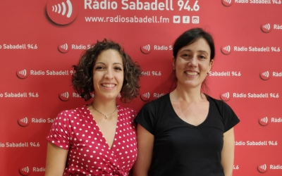 Golberg i Espelt, a Ràdio Sabadell / Pau Duran