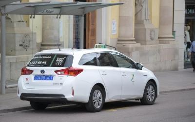 Els taxistes van estar en peu de guerra a principis d'any demanant una regulació | Roger Benet